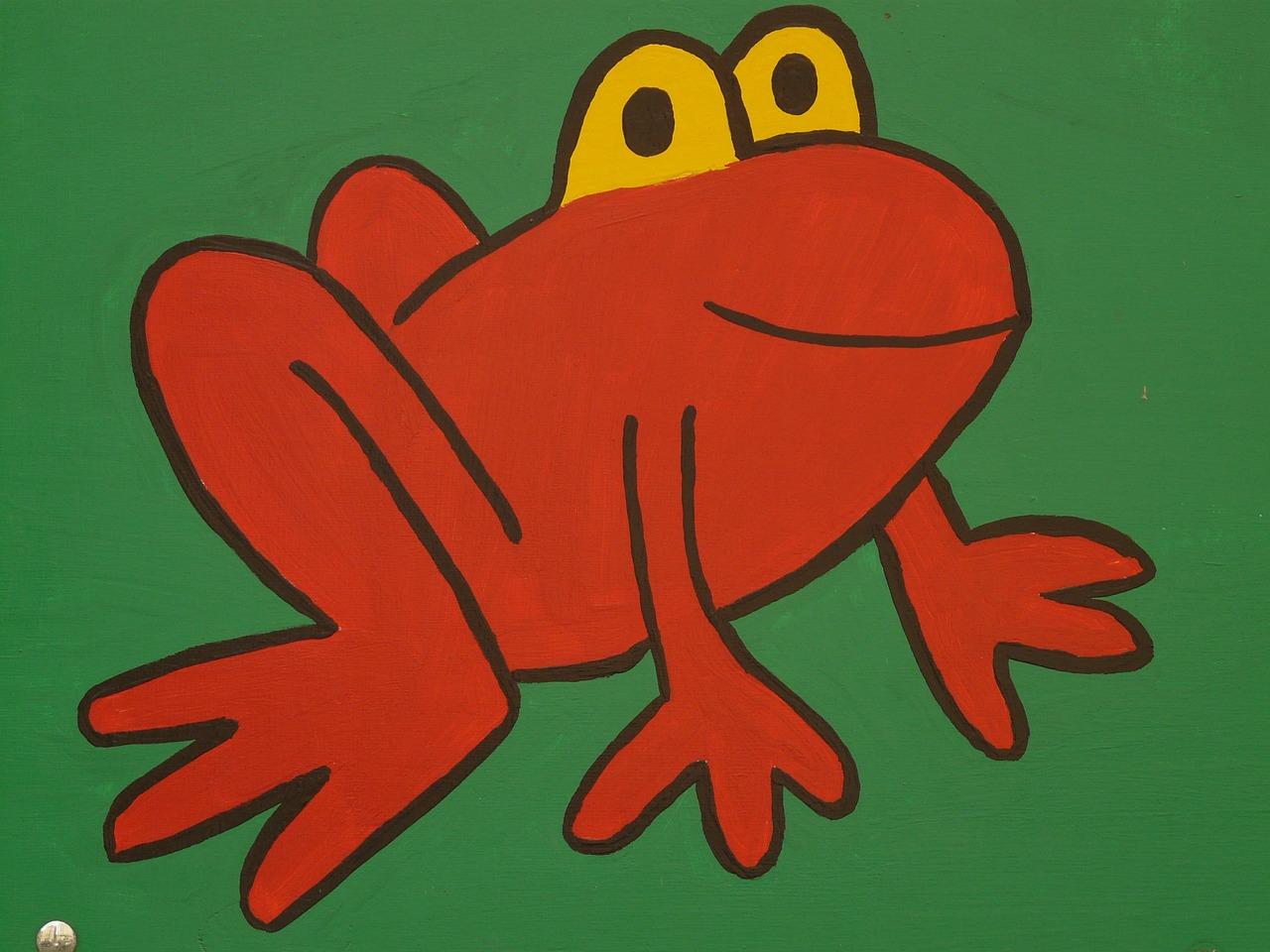 カエル跳びレース なのです