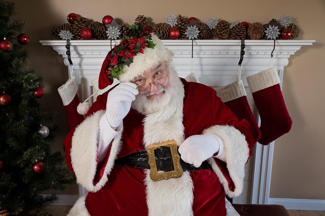 サンタクロースは忙しい なのです