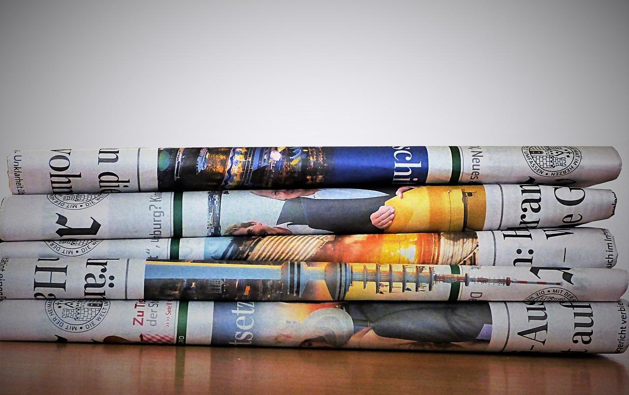 ちぎって新聞紙 なのです