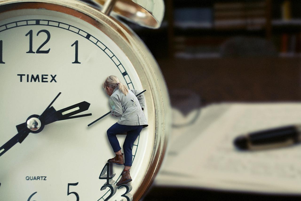 人間時計 なのです